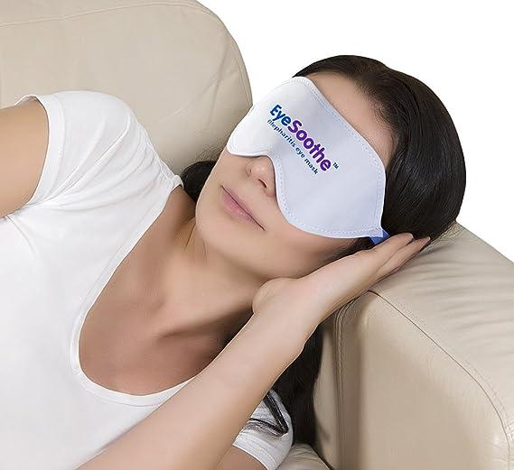 Máscara para ojos EyeSoothe para blefaritis con paquete de gel para calentar y bolsa de almacenamiento higiénica: Amazon.es: Salud y cuidado personal
