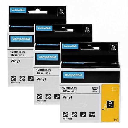 Airmall 3x Etiquetas Caja para Vinilo Impresora Compatible con ...