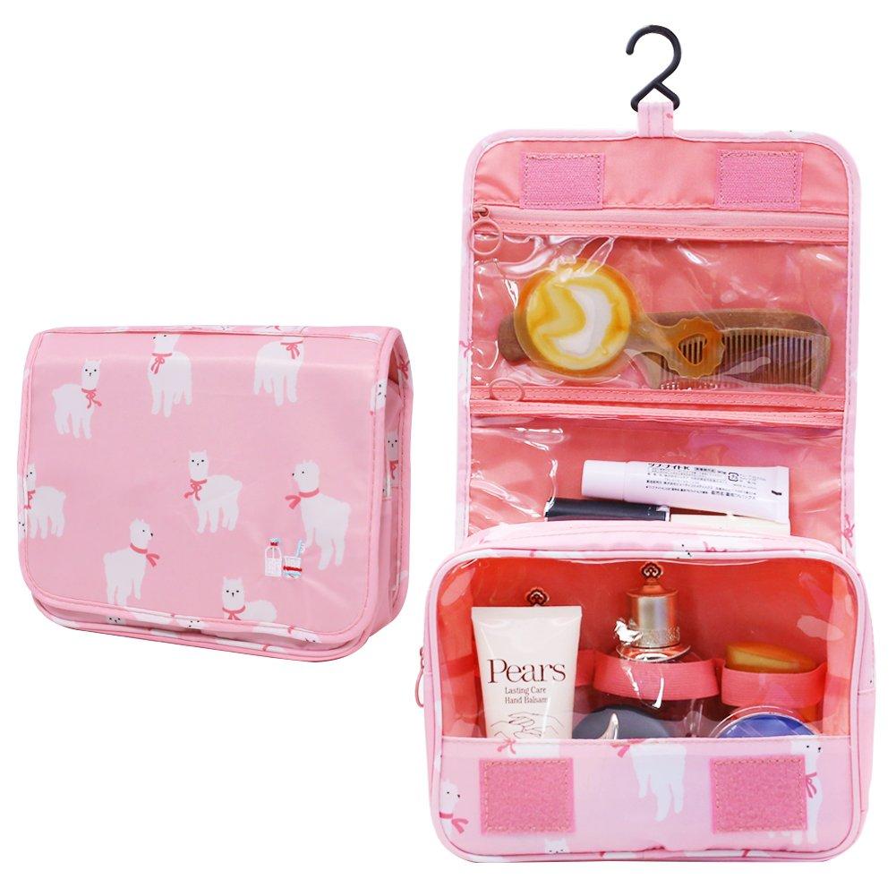 Amazon.com: Bolsa de aseo, bolsa de maquillaje portátil ...