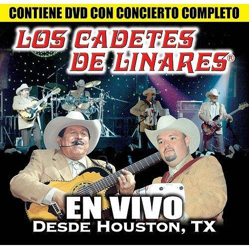 (Los Cadetes De Linares En Vivo Desde Houston, TX CD+DVD)