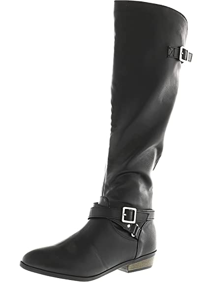 e04edaa1b1c Material Girl Women s Capri Knee-High Boot  Material Girl  Amazon.ca ...