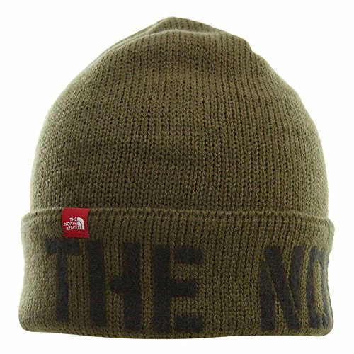 The North Face TNF Felted Logo Beanie Unisex Style: A355Z-N0W Size: (Tnf Logo Beanie)
