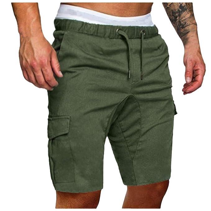 Pantalones Cortos Hombre Hombres Pantalones De CháNdal Pantalones ...