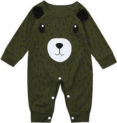 T TALENTBABY Baby Baby Jungen M/ädchen Weihnachten Langarm Rei/ßverschluss Strampler gestreift Schlafanzug Schlafanzug Schlafanzug