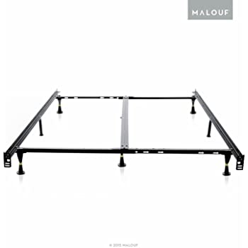 Amazon Com Adjustable 46r Lp Low Profile Bed Frame With