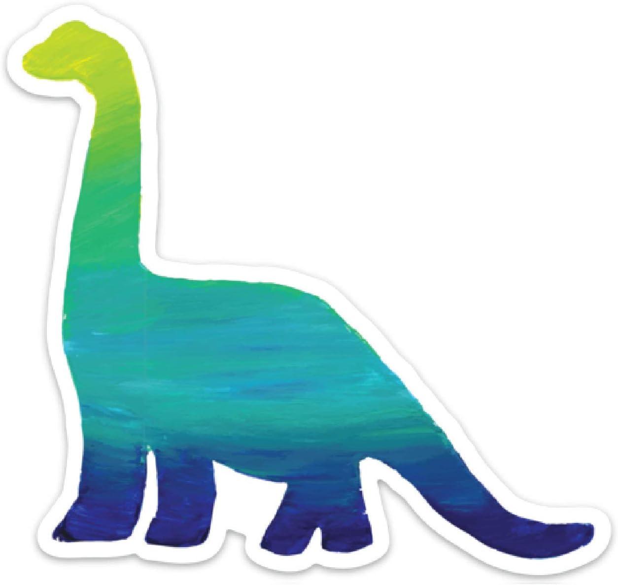 "Promini Dinosaur Sticker Dinosaur Decal Dinosaur Car Sticker Dinosaur Car Sticker Vinyl Sticker 4"" Laptop Sticker Luggage Sticker Phonecase Sticker"