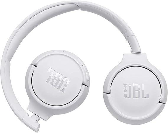 Auriculares supraaurales inal/ámbricos con conexiones multipunto y asistente de voz Google now o Siri JBL Tune500BT bater/ía de 16 h blanco