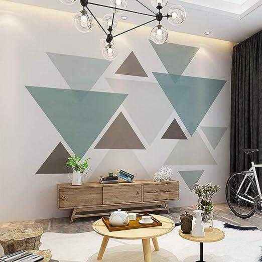 Kreatives Dreieck Muster Fur Die Wand Godoit Ch 11