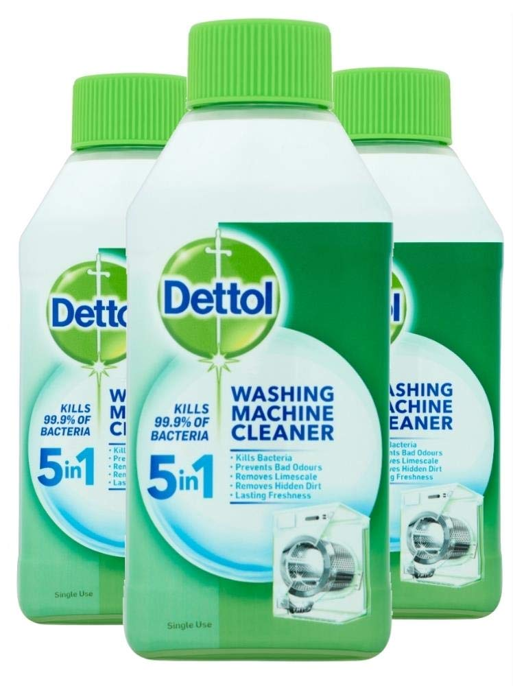 Dettol Washing Machine Cleaner 250 ml x 3