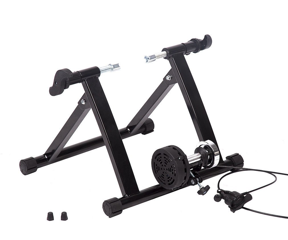 All Goodly Portable Magnetic Resistance Bike Convert Trainer (BLACK)