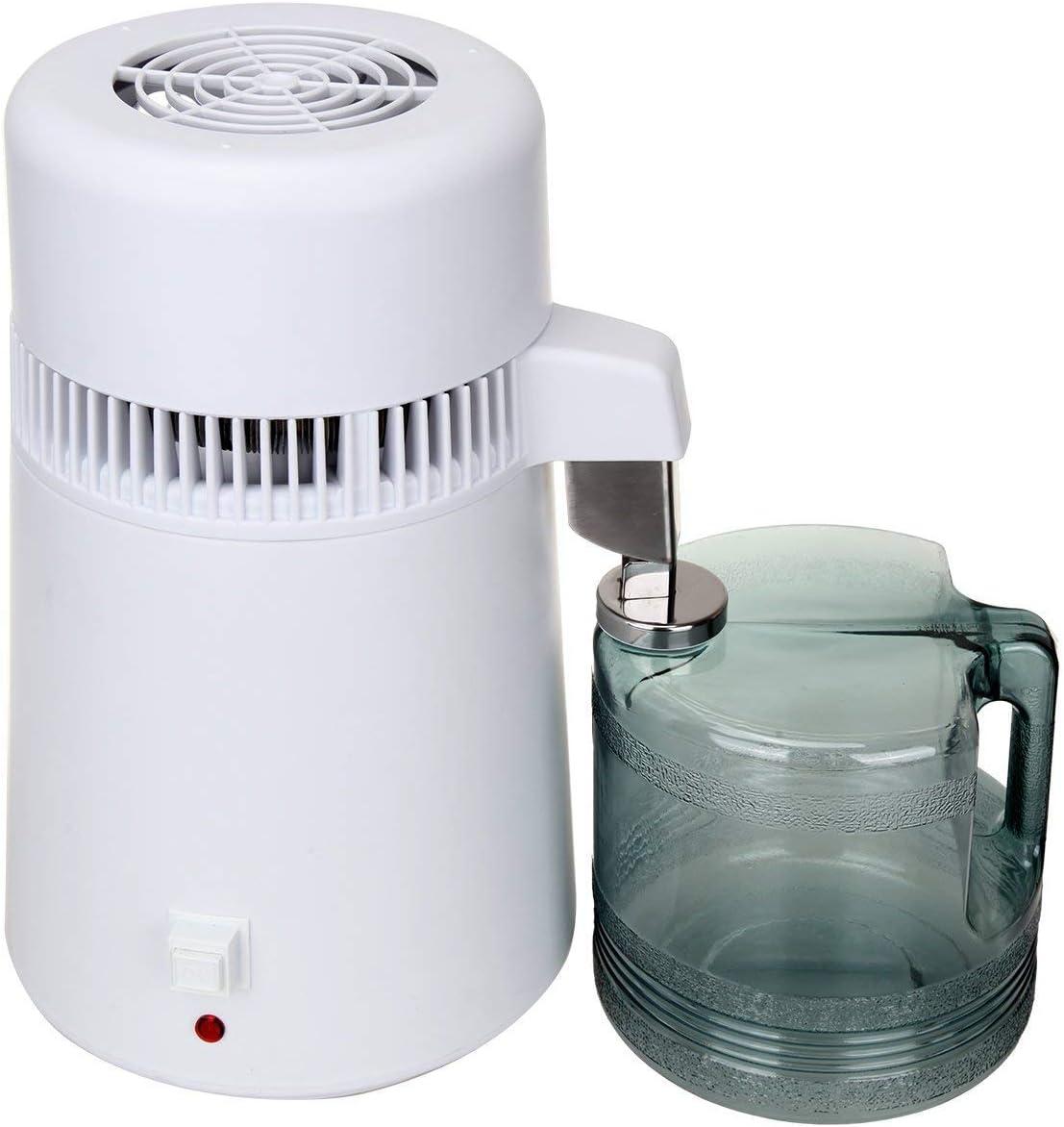 Paneltech 4L 750W máquina de agua pura destilador purificador de ...