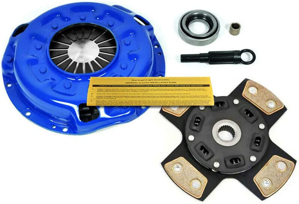 EFT 4 PUCK STAGE 3 CLUTCH KIT FOR NISSAN FRONTIER PATHFINDER XTERRA 3.3L NON-S//C