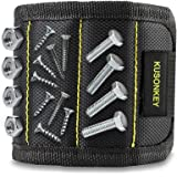 Magnetic Wristband, Kusonkey 15 Magnets Holding Screws Nails Drill Bits Gifts Gadgets Tools Gift Best Men Him Father Dad DIY Handyman Electrician Husband Boyfriend Women