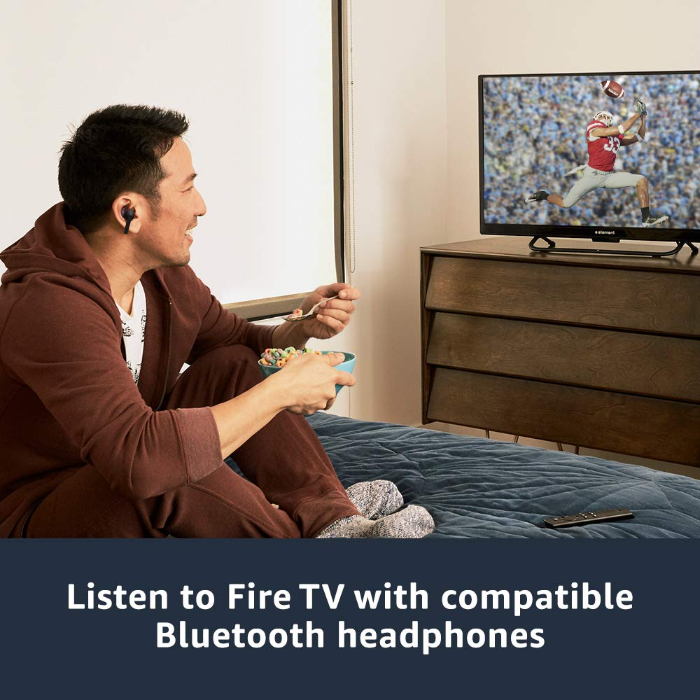 Fire TV Stick 4K streaming device with Alexa built in Ultra HD Dolby Vision includes the Alexa Voice
