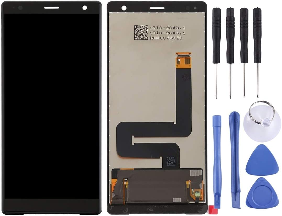Black Replace The Old LCD Assembly Replacement//Replace LCD Screen+Touch Screen and Digitizer Full Assembly for Sony Xperia XZ2 Color : White Original