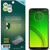 Película de Vidro Temperado 9h para Motorola Moto G7 Power, Hprime, Película Protetora de Tela para Celular, Transparente