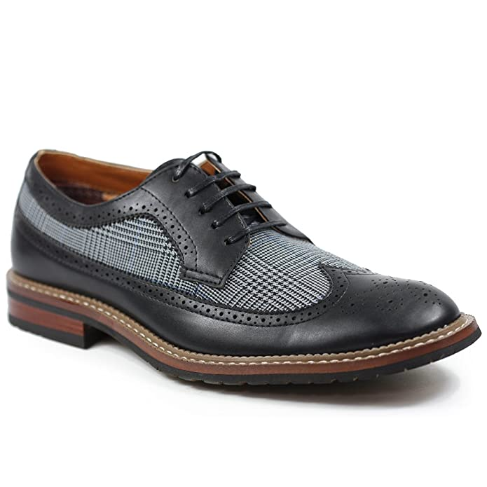 Mens Vintage Style Shoes| Retro Classic Shoes Ferro PETER MFA19312A  AT vintagedancer.com