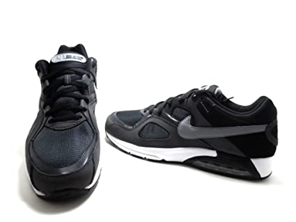 watch 92043 1c9e4 Nike Air Max Go Strong Mens Running Shoes Grey Stealth Black White
