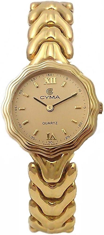Reloj Oro 18K Cyma Modelo Espiga Mujer [Ab4260] - Modelo: 6500