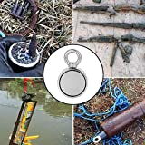 FINDMAG Double Sided Fishing Magnets, 660 LBS