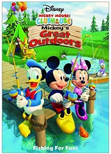 Mickey Mouse Halloween Party Cartoon (DISNEY MICKEY MOUSE CLUBHOUSE: MICKEY'S GREAT OUTDOORS (HOME VIDEO)