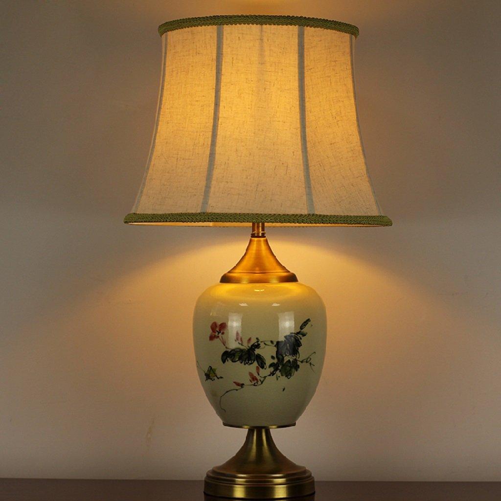 Keramik Nachttischlampe gehobenen neuen handgemalten chinesischen Hochzeit Schlafzimmer Wohnzimmer den Hotel