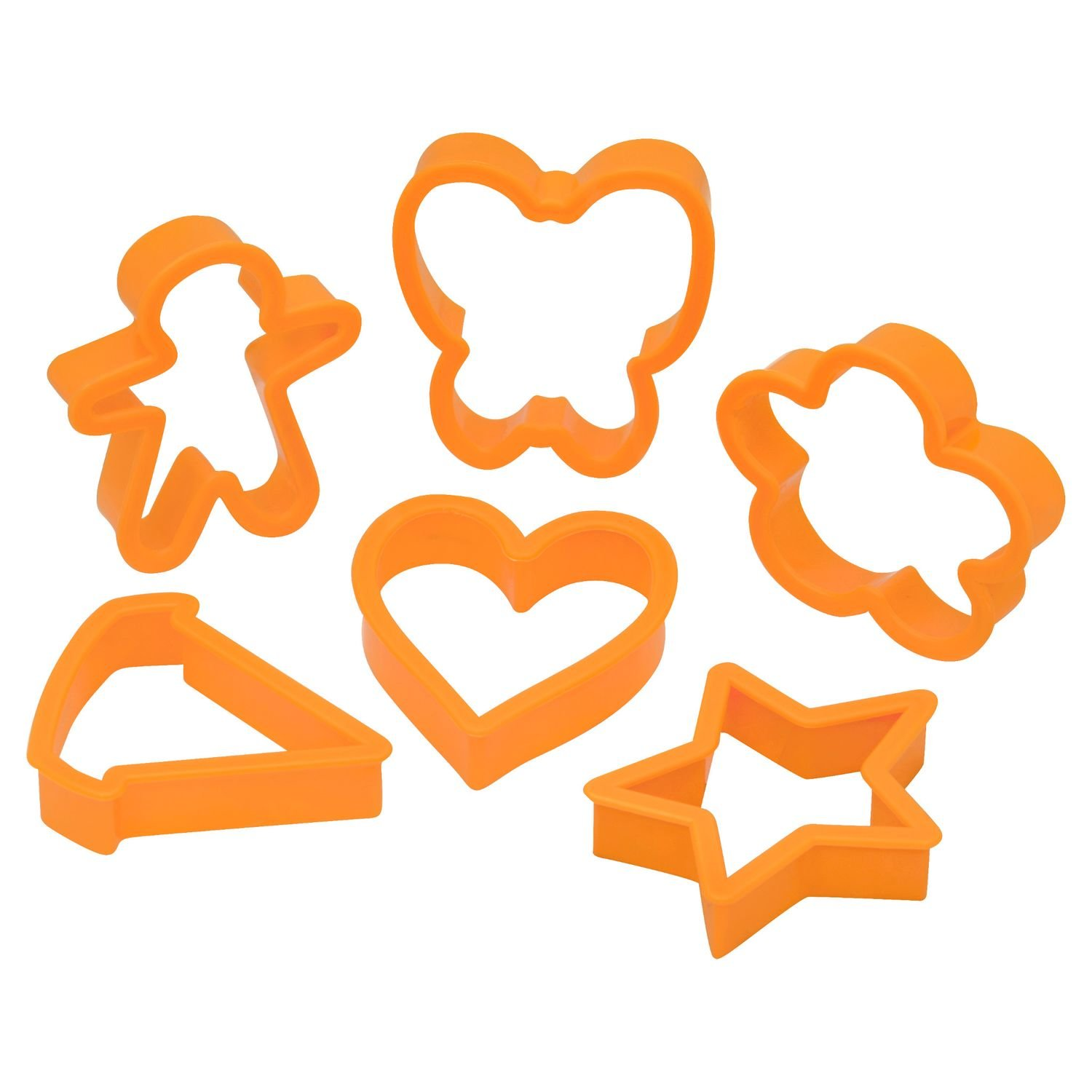 Baker's Secret 6 Piece Cookie Cutter Set World Kitchen COMINHKPR104786