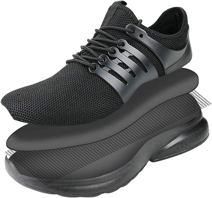 CAGAYA Zapatillas de Deportivos de Running para Hombre Trail Running Zapatos para Correr en Asfalto Ligero Sneakers Hombre: Amazon.es: Zapatos y complementos
