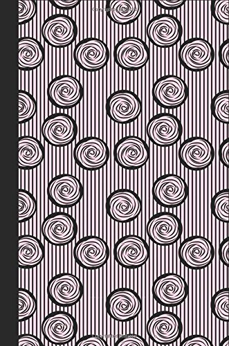 Journal: French Swirl (Pink) 6x9 - GRAPH JOURNAL - Journal with graph paper pages, square grid pattern (Spirals and Swirls Graph Journal Series)
