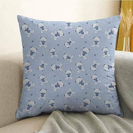 FreeKite Funda de cojín de Microfibra para sofá, Dormitorio ...