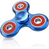 ATESSON Fidget Spinner Toy Ultra Durable Stainless Steel Bearing High Speed 2-5 Min Spins Precision Metal Material Hand spinner EDC ADHD Focus Anxiety Stress Relief Boredom Killing Time Toys