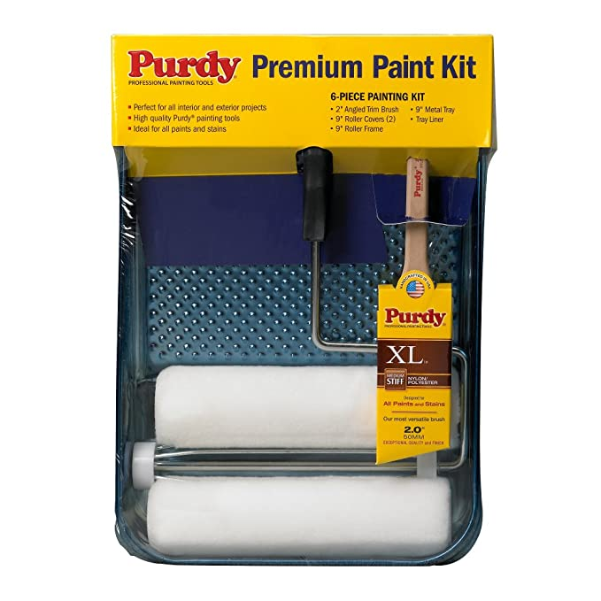 PURDY CORPORATION 14C811000 Premium Painting Kit, 6 Piece