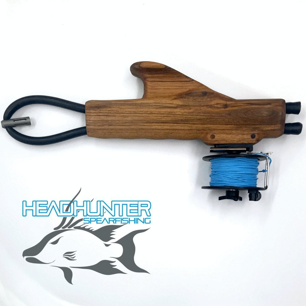Headhunter Guerrilla Sling For Freediving and Spearfishing (With Reel)