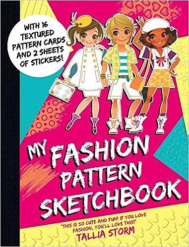 My Fashion Pattern Sketchbook