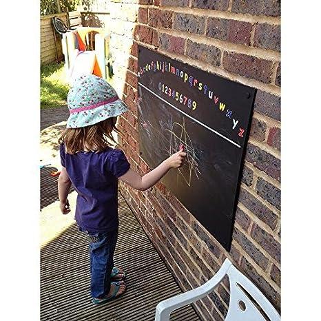 Chalkboards UK Pizarras de Madera Negra con diseño de ...