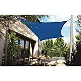 DOEWORKS Rectangle 13' X 20' Sun Shade Sail, UV