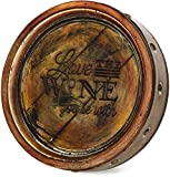 Cheap Pavilion Gift Company 22075 Love Wine Barrel Plaque, 8-Inch