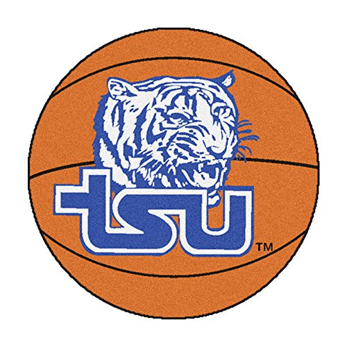 Tennessee State Basketball Rugs (NCAA Tennessee State University Tigers Basketball Shaped Mat Area Rug)