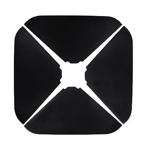 Domi Outdoor Living Offset Patio Umbrella Base Sand Filled Set Pack Of 4  Square