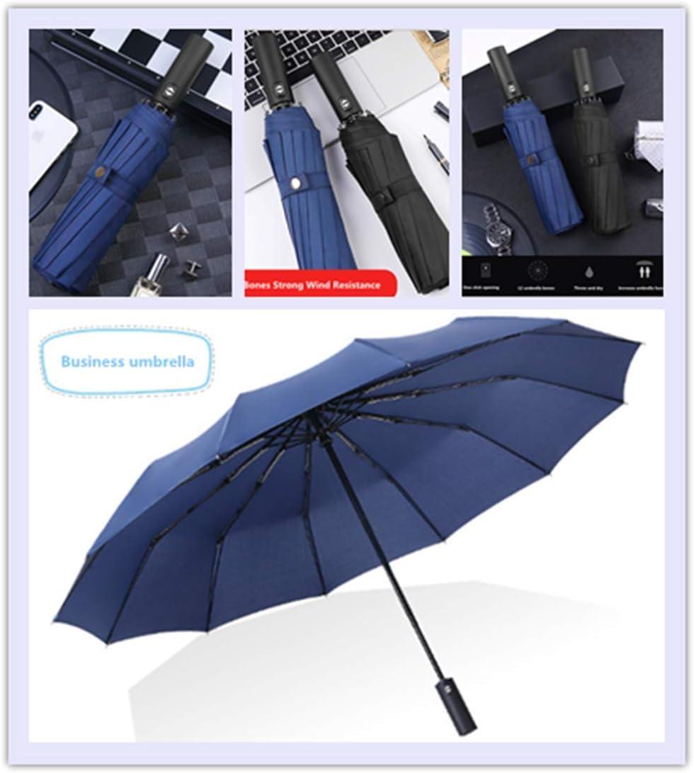 Paraguas Port/átil Paraguas de Viaje Compacto para Hombres y Mujeres Paraguas Plegables Antiviento