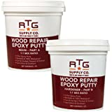 RTG Wood Repair Epoxy Putty (2-Pint Kit)