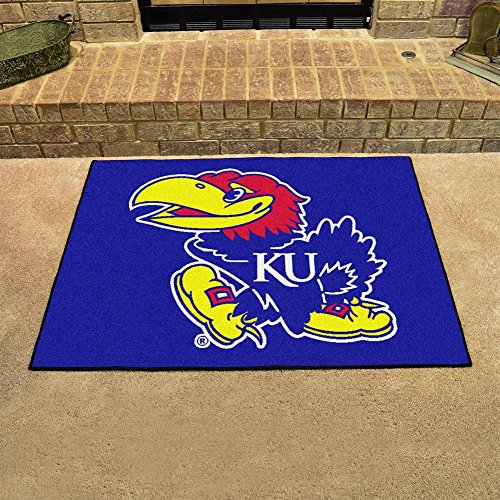 - Fanmats Kansas Jayhawks All-Star Mat