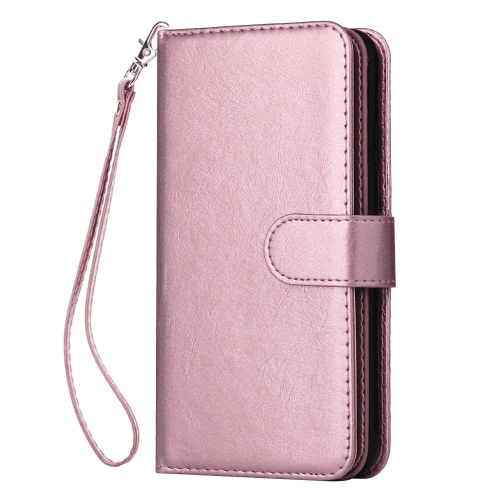 Samsung Galaxy S8 Flip Case Cover for Samsung Galaxy S8 Leather Card Holders Wallet case Extra-Protective Business Kickstand with Free Waterproof-Bag Elegant