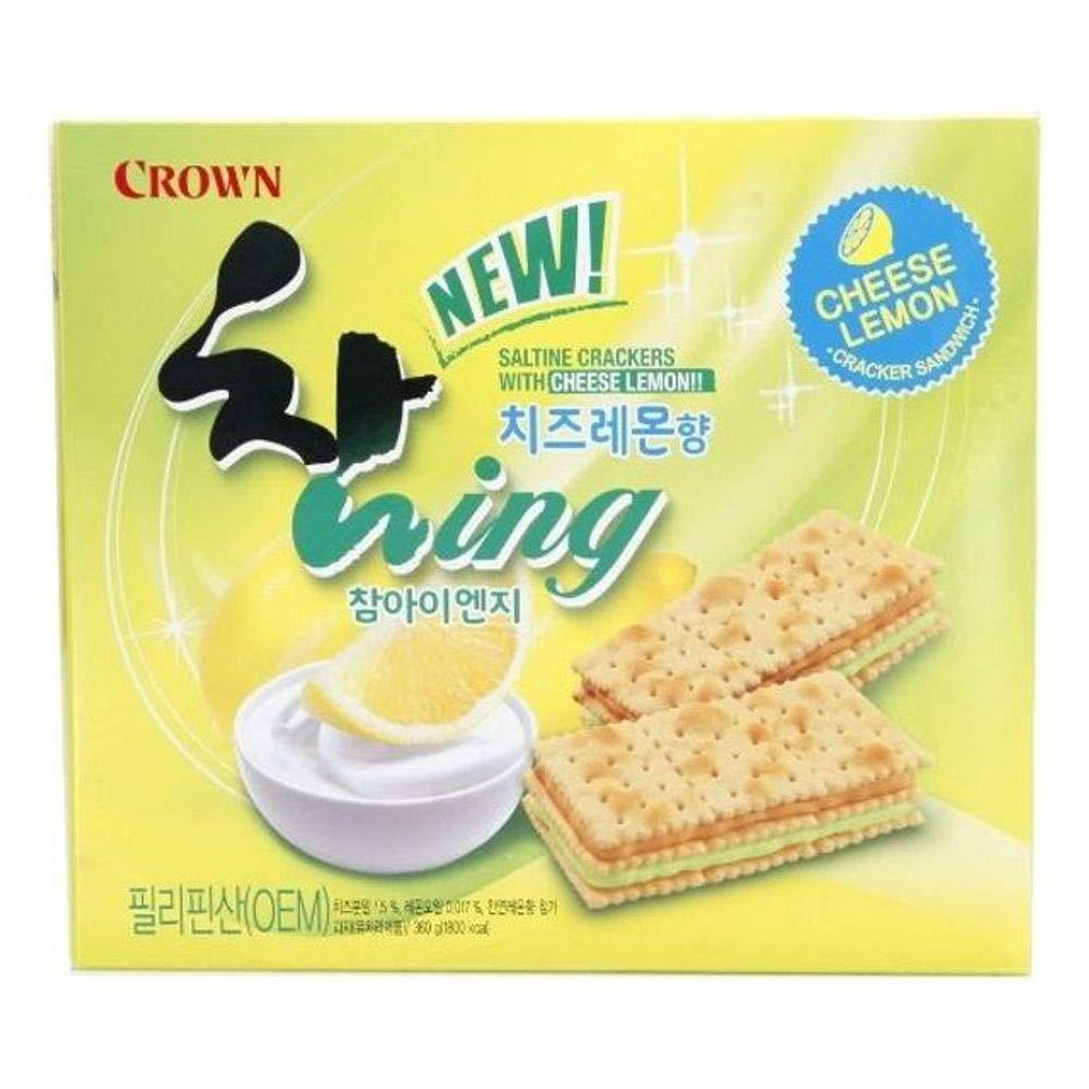 Crown Cham ING Cheese Lemon 360g x 12 참 ING