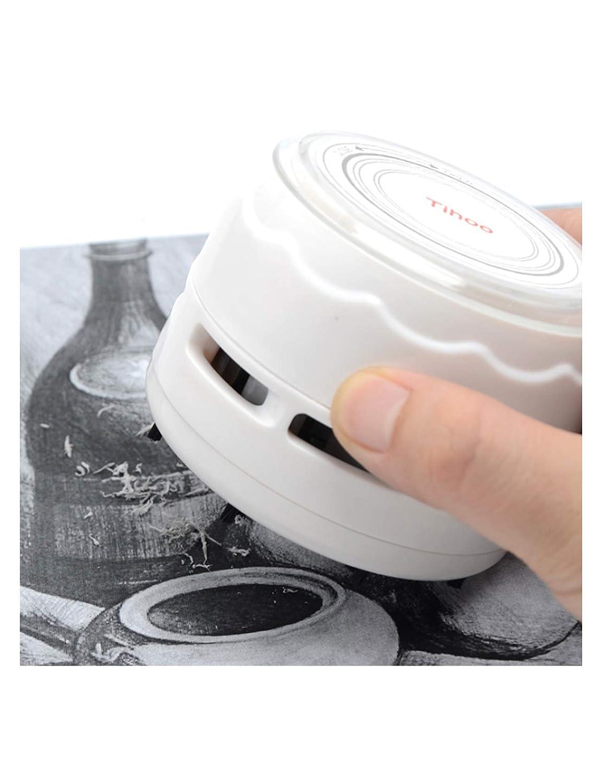 Tihoo Mini Elektrischer Tischstaubsauger Wei/ß