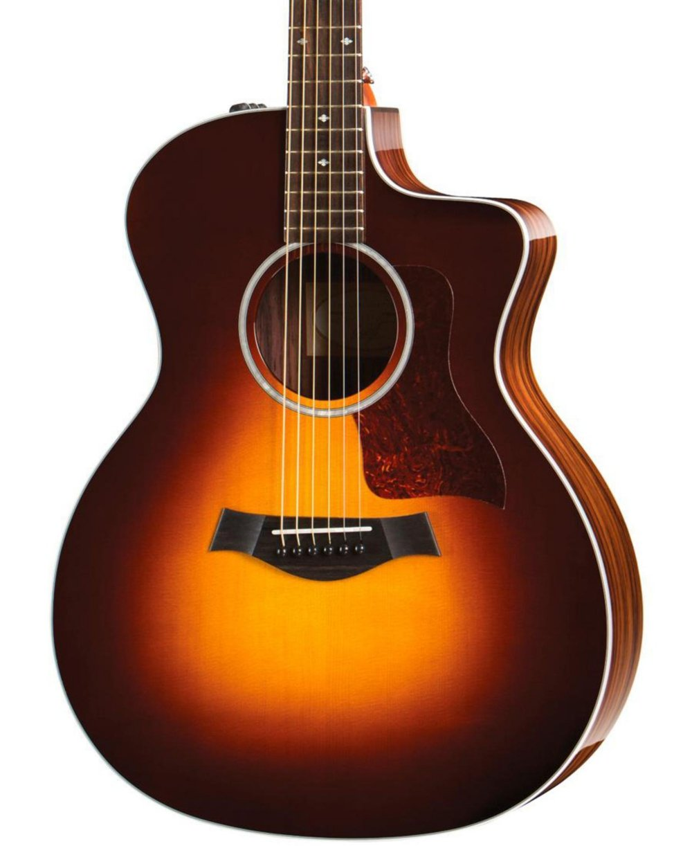 taylor 200 series 214ce dlx grand auditorium acoustic electric guitar guitar affinity. Black Bedroom Furniture Sets. Home Design Ideas