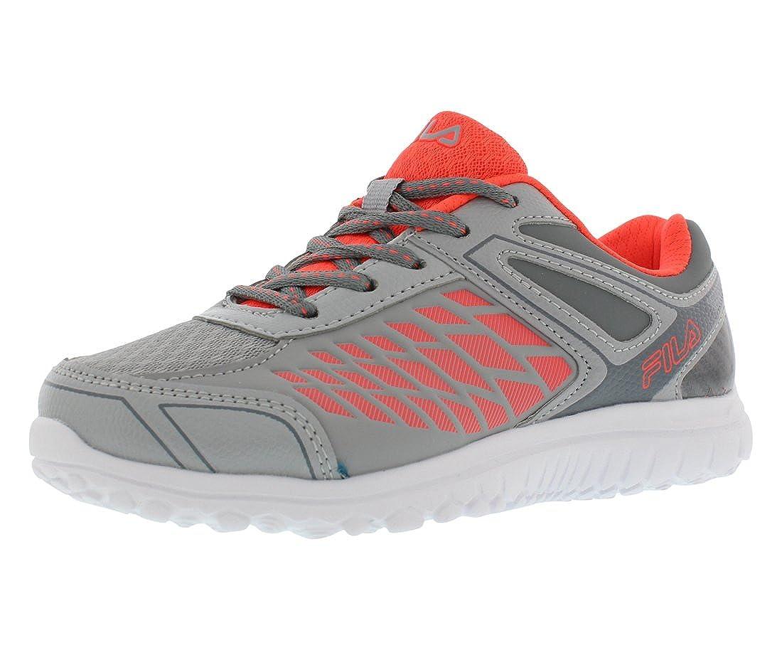 Color Grey//Coral Fila Lightning Strike Boys Athletic Shoes Size US 13.5 Regular Width