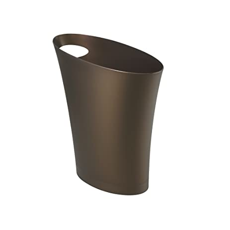 Designer Wastebasket Perfect Trashcan With Designer Wastebasket Lb Round Open Top Stainless