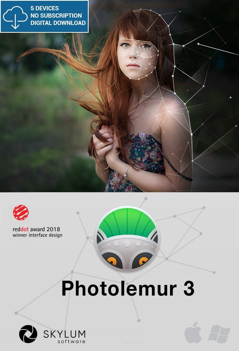 Photolemur 3 - Automatic Photo Enhancing Software [Mac Download]