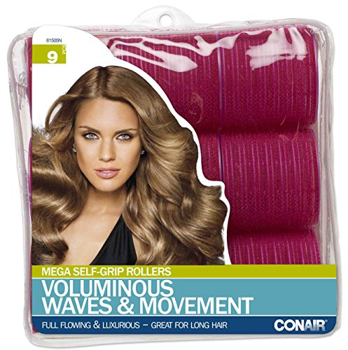 Conair Big Curls (Conair Mega Self Holding Rollers, 9 Count)